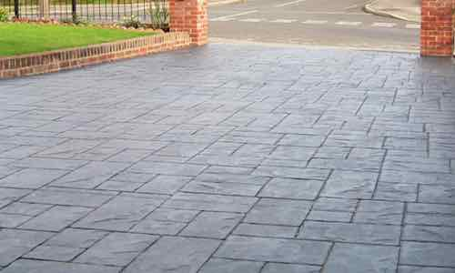 Imprinted concrete driveways Altrincham