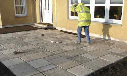 patio installation Chadderton