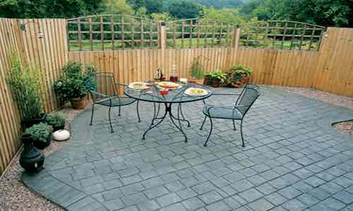 stamped concrete patios Eccles